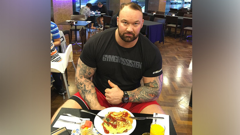 Game of Thrones star Hafthor Bjornsson reveals incredible Strongman diet