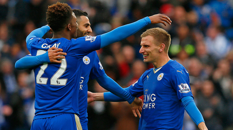 On the verge of history: Leicester head into Man Utd game 1 win away from Premier League glory