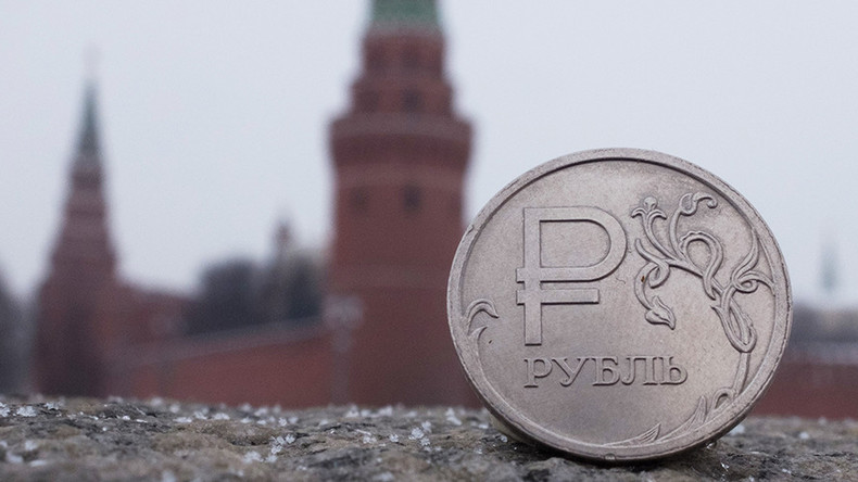 Weak ruble as oil prices rise improves Russia's economic outlook