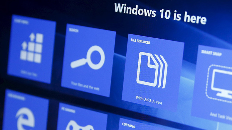 Windows 10 hell: Live weather forecast ambushed by dreaded pop-up (VIDEO)