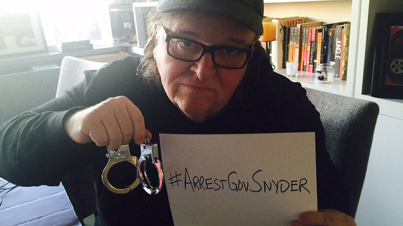 Michael Moore to Obama: Flint will riot 'soon' if you don't #ArrestGovSnyder