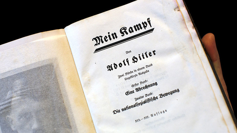 Bavaria may introduce Hitler's Mein Kampf in schools to 'immunize' youngsters