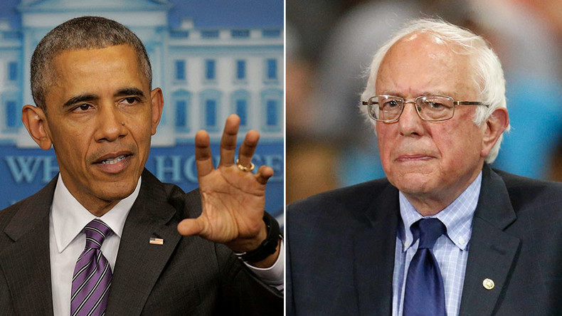 Obama tosses some crumbs to Sanders on big banks, says he is 'correct' in a 'sense'