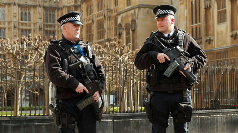 UK terror threat up, but gun cop numbers down Home Office stats show
