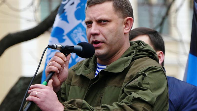 Donetsk People's Republic blames Kiev for plotting assassination attempt