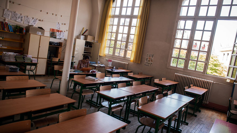 German principal accused of ordering students to strip naked