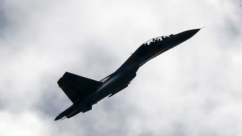 Pentagon claims Russian jet fighter barrel rolled within 25 feet of US reconnaissance plane