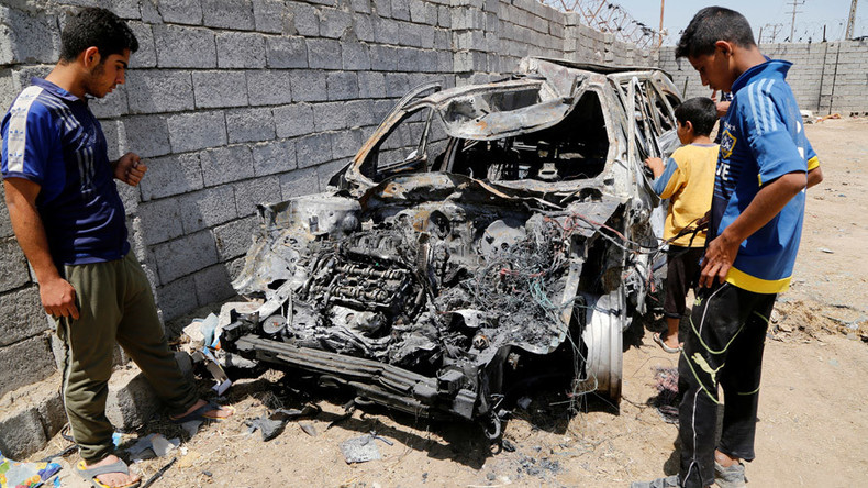 At least 21 killed, 42 injured as ISIS car bomb targets Shiite market near Baghdad – officials