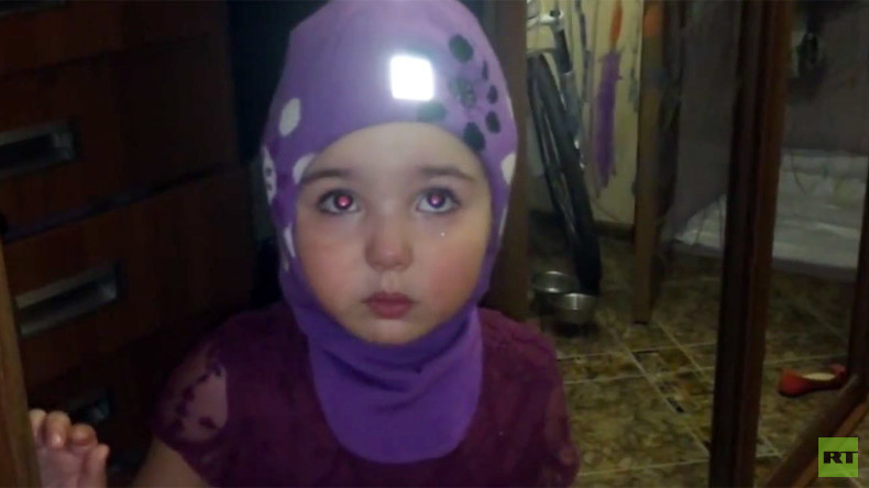 'I'll go to Africa and starve there!' Video of Russian 4yo reproaching parents goes viral