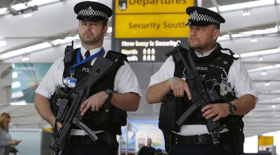 1,000 more armed police on British streets to counter Paris-style attack