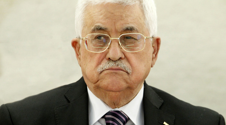 '70 boys & girls with knives': Mahmoud Abbas addresses rising Palestinian-Israeli violence