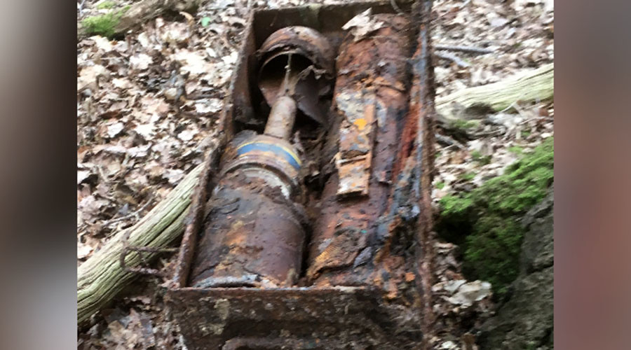 Shell shock: 6 WWII anti-tank rockets found at UK bus stop, cops forced to deny April Fool