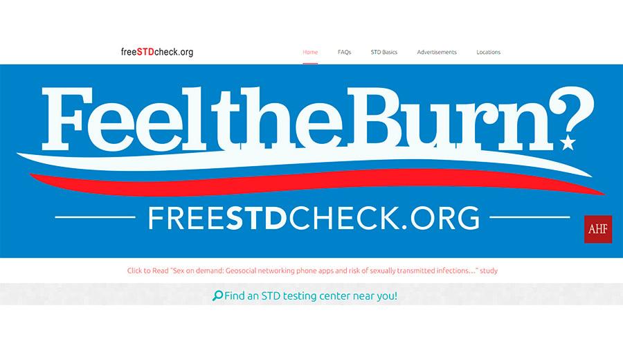 'Feel the burn?': Billboard co-opts Sanders slogan to promote STD clinic