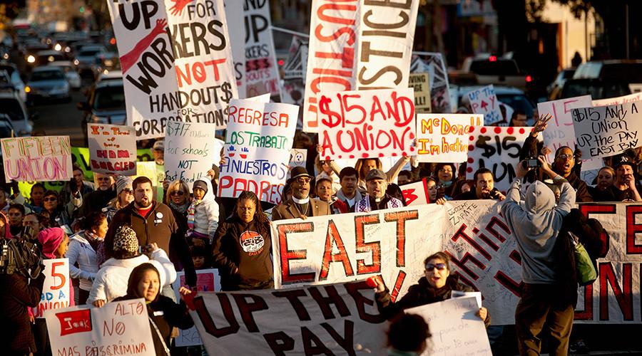 New York, California reach deals to raise minimum wage to $15 per hour
