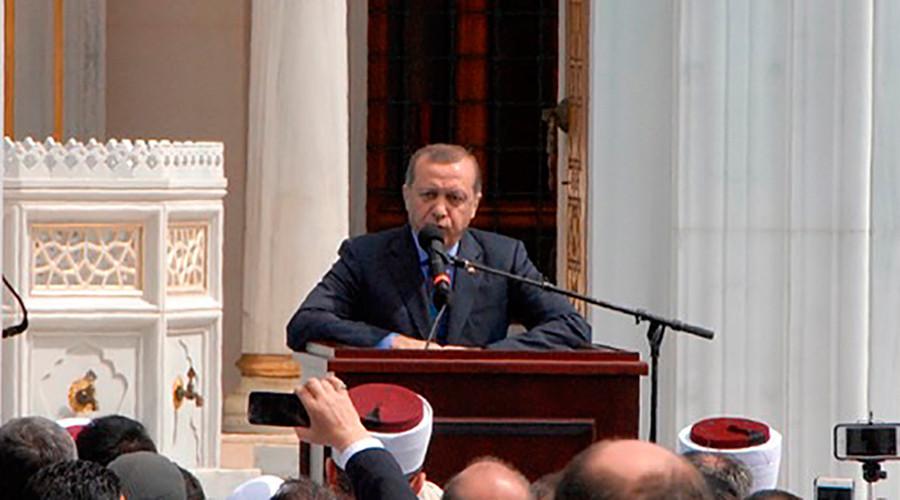 Erdogan opens $100mn Turkish cultural center in Maryland, blasts US elections' Islamophobic rhetoric