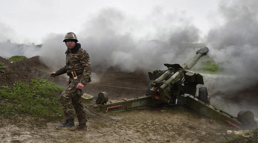Escalation of hostilities in disputed Nagorno-Karabakh
