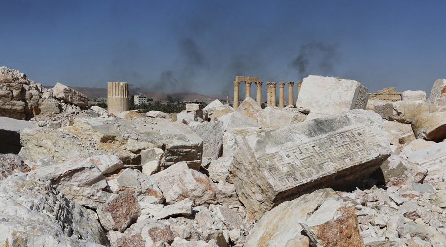 Demining Palmyra: Russian experts defuse over 100 mines in ancient Syrian city (VIDEO)