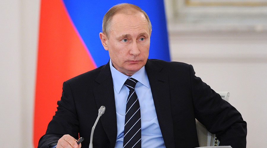 Putin orders creation of National Guard to fight terrorism, organized crime