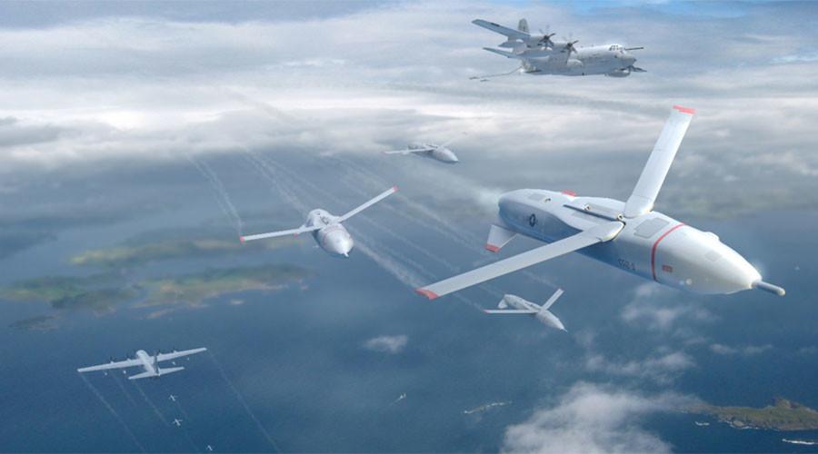 US 'Gremlin' drones designed to cause missile defense mayhem (VIDEO)
