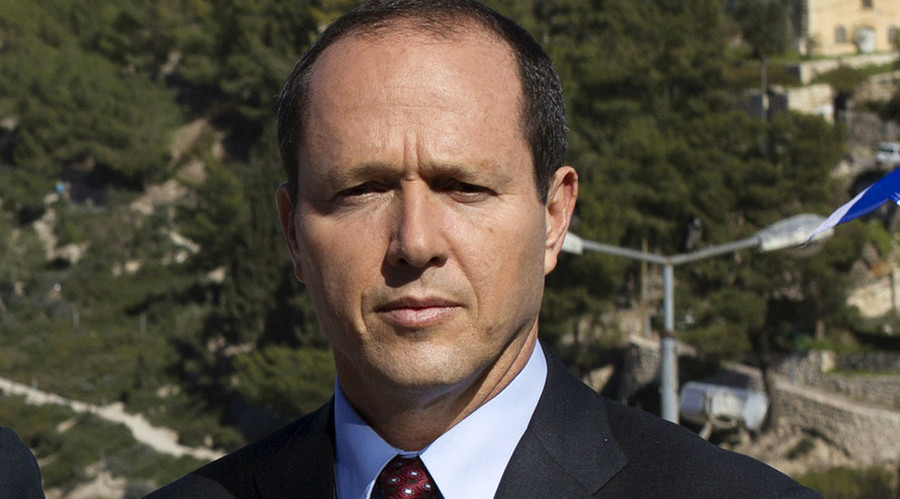 Pro-Palestinian protesters interrupt Jerusalem mayor's lecture at San Francisco State University