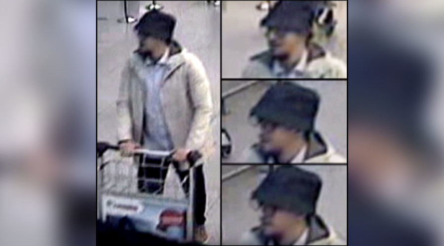 Belgium shows new images of 'man in white,' 3rd suspect in Brussels bombings