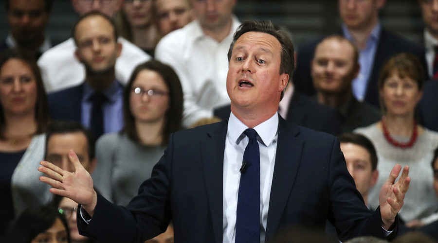 'I'll be watching you': The Police feat. Cameron helpfully explain Snoopers' Charter (VIDEO)