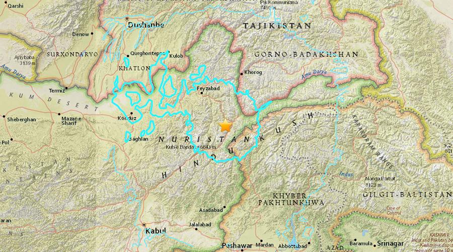 Panic as powerful earthquake jolts Afghanistan, tremors felt as far as New Delhi