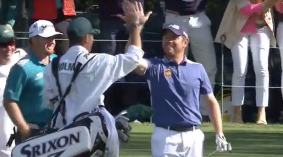 Crazy golf: Watch insane hole-in-one by Louis Oosthuizen at US Masters (VIDEO)