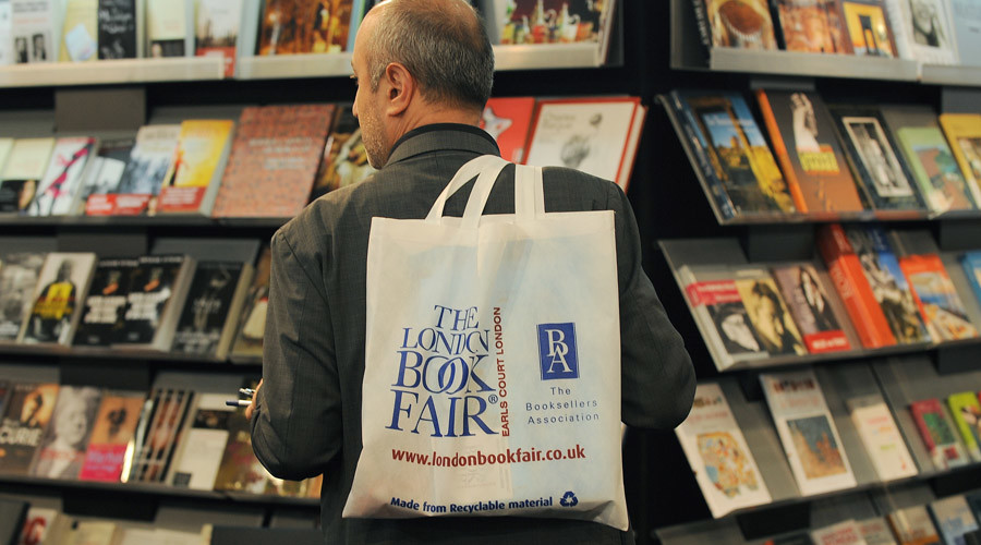 'Politics shouldn't affect culture exchange': Russian culture minister visits London book fair