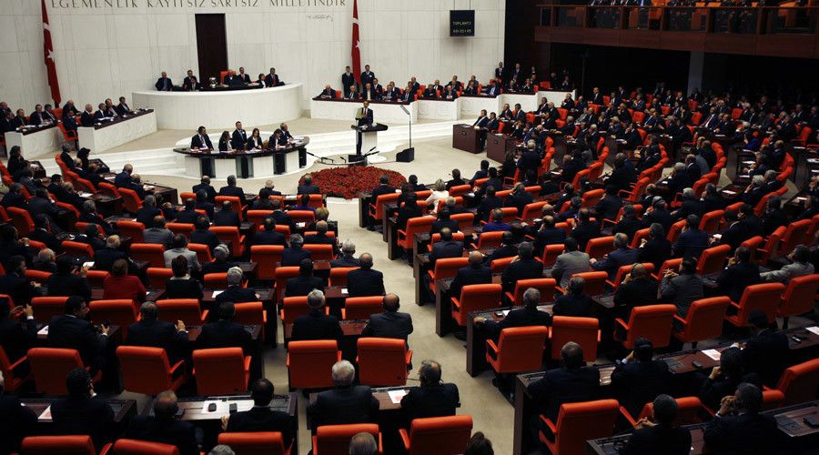 Turkey introduces draft law to strip 'terrorist' lawmakers of immunity