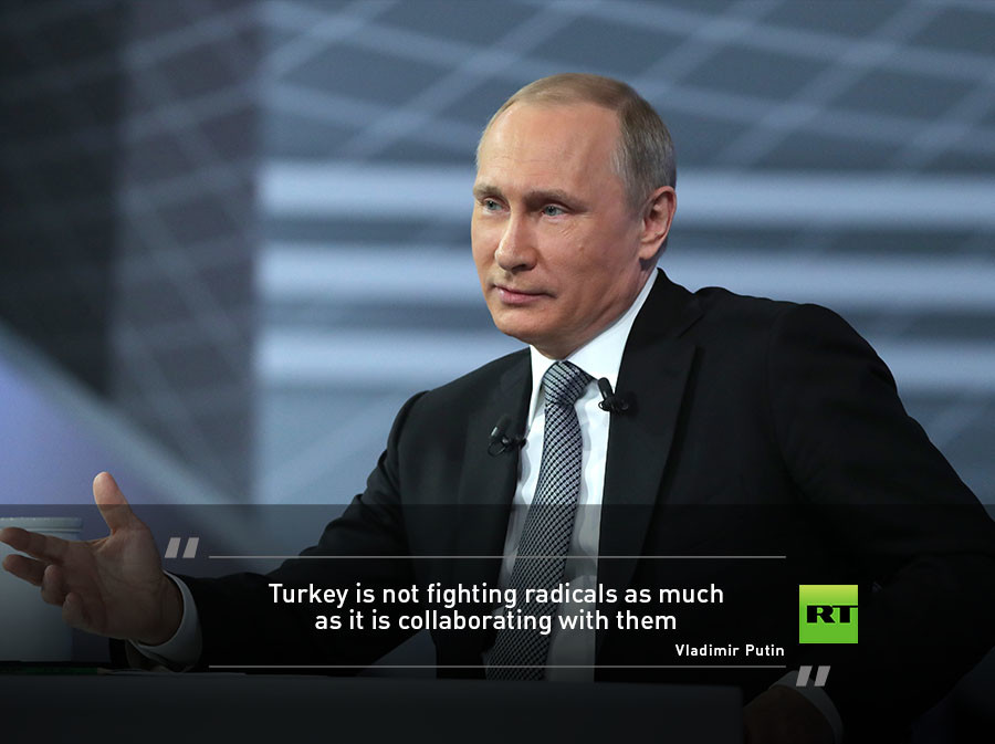 Turkey Is Doing More To Collaborate With Jihadist Extremists Than It Combat Them According Putin He Mentioned That Did Not Think