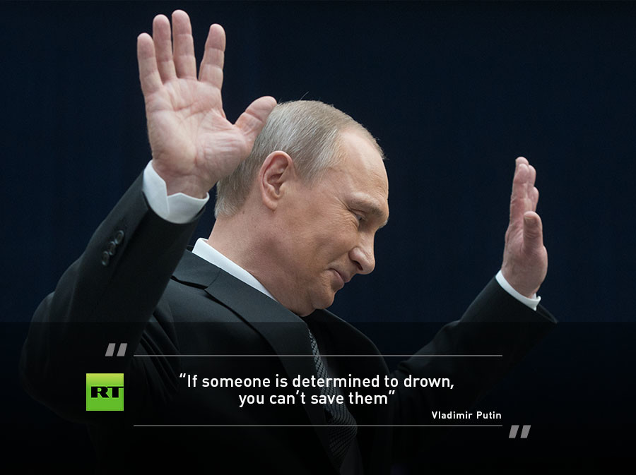 Twelve Year Old Varya Kuznetsova Posed President Putin A Rather Challenging Question Asking Who Would You Rescue First If They Were Drowning