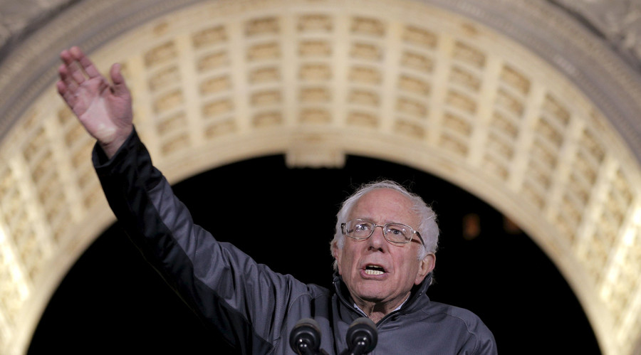 Bernie Sanders wins Time reader poll of 100 most influential people