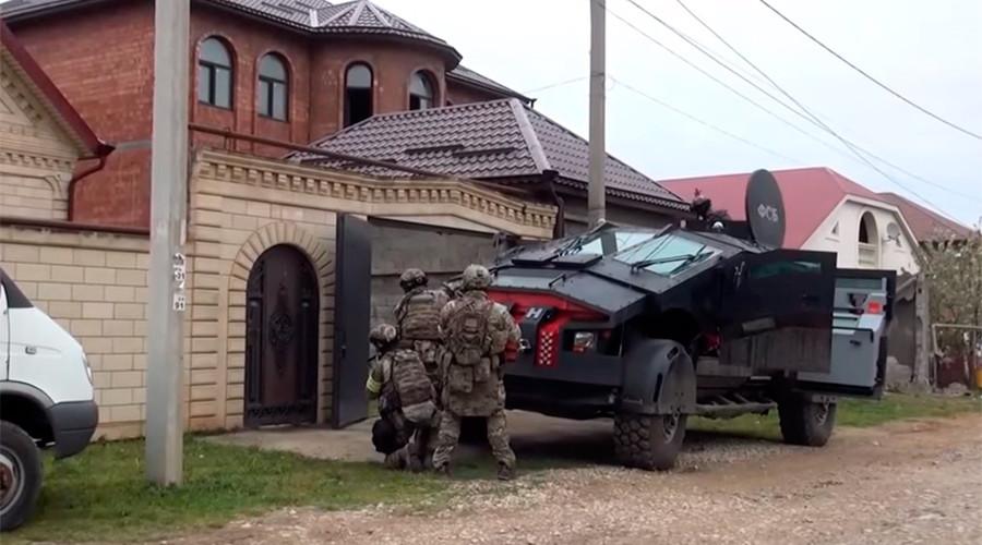 Secretive 'FSB Batmobile' & 'Tiger' assault vehicles debut in Dagestan anti-terror op (VIDEO)