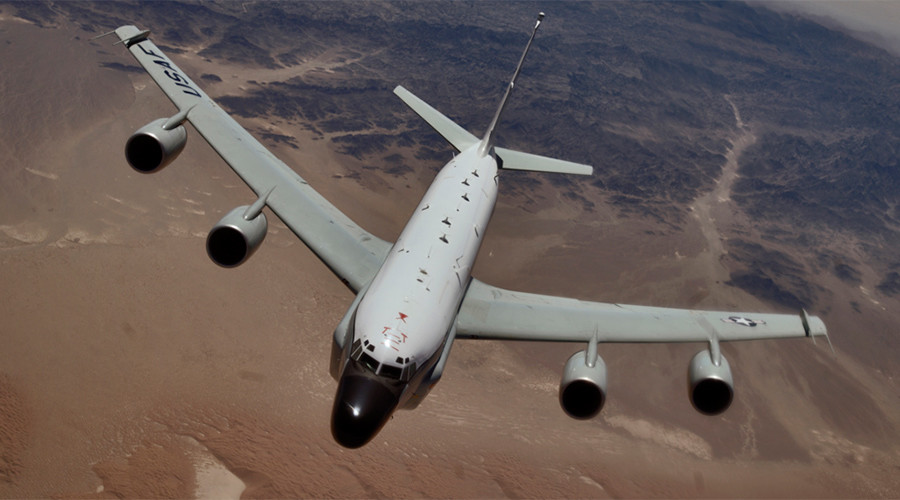 'Erratic & aggressive': Pentagon protests Russian interception of US spy plane