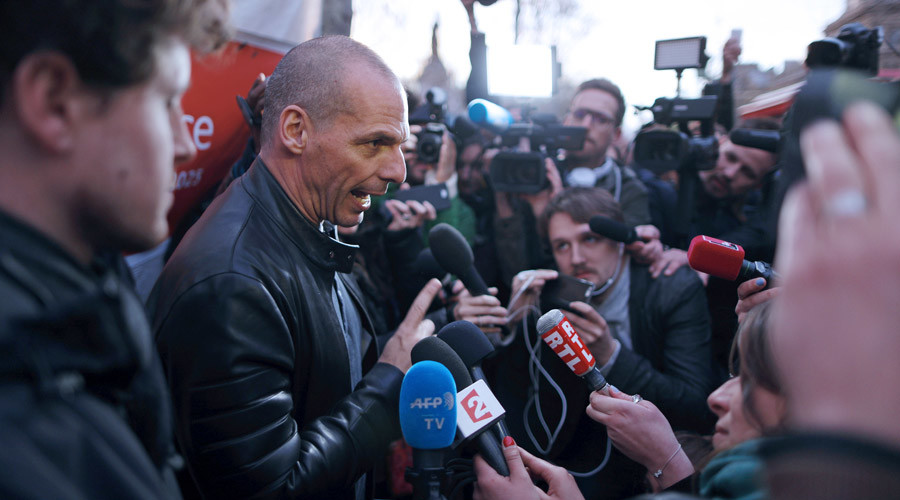 Varoufakis joins French anti-labor reform protests in Paris (VIDEO)