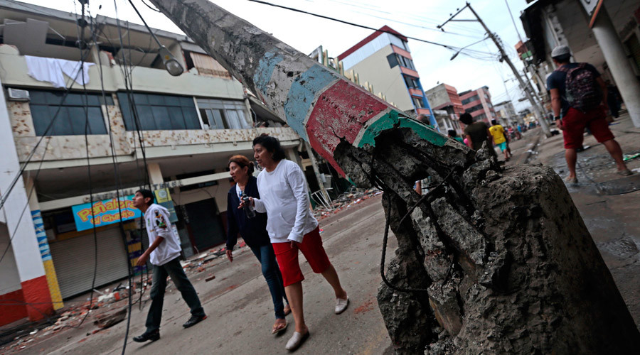 Post-quake chaos in Ecuador in 10 heart-wrenching photos (GRAPHIC)