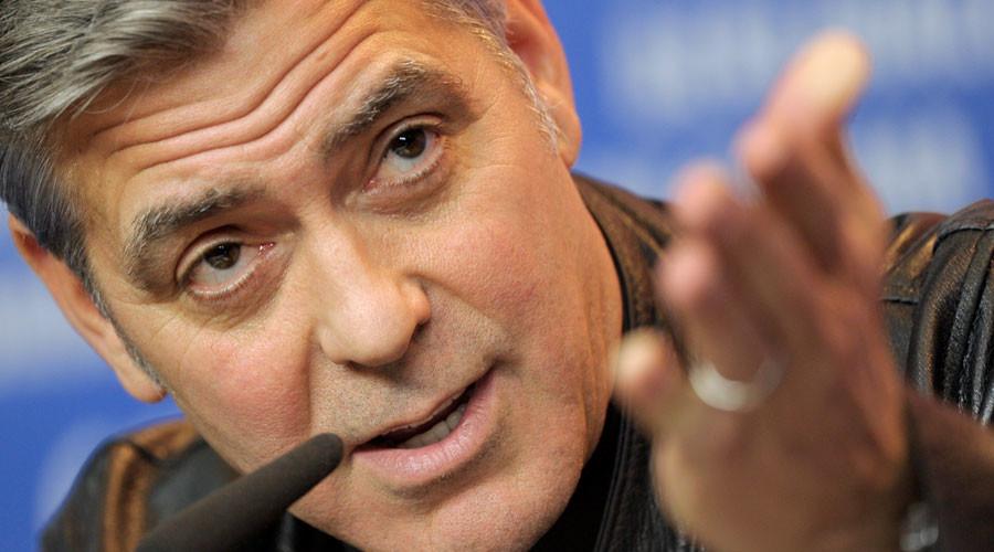 George Clooney lambastes big money in politics after hosting $353k Clinton fundraisers