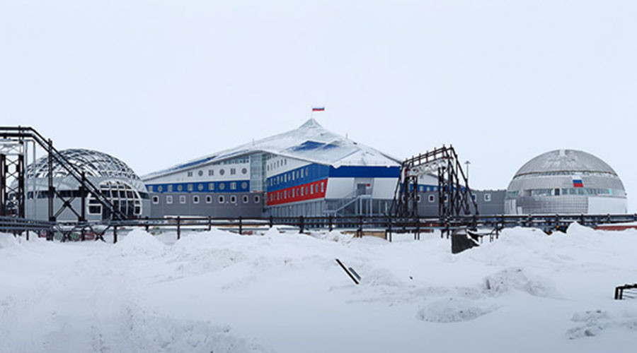 Snowy stronghold: Russian defense minister visits new Arctic military base (PHOTOS, VIDEO)