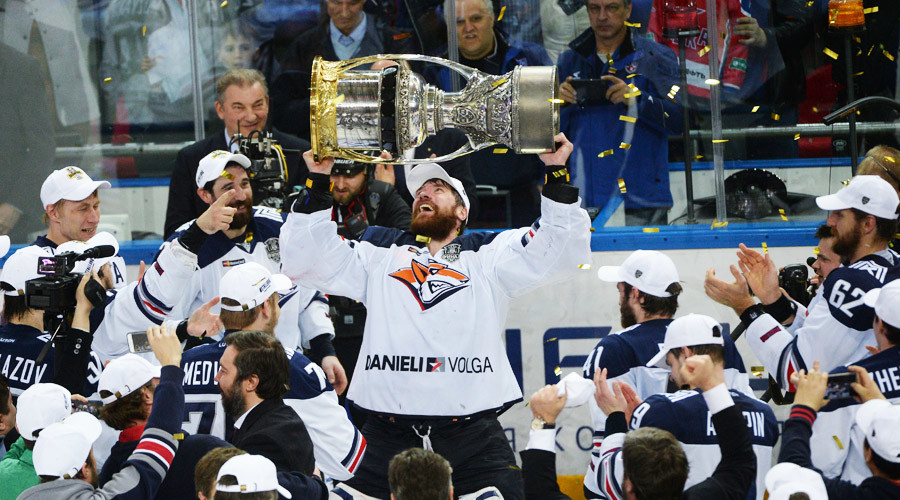 Magnitogorsk wins 2nd Gagarin Cup in 3 years
