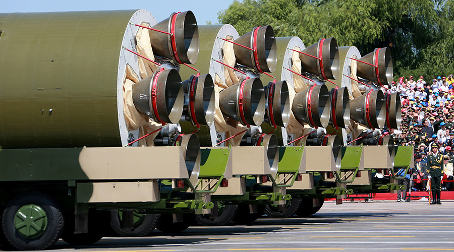 China tests ICBM capable of striking US within half an hour