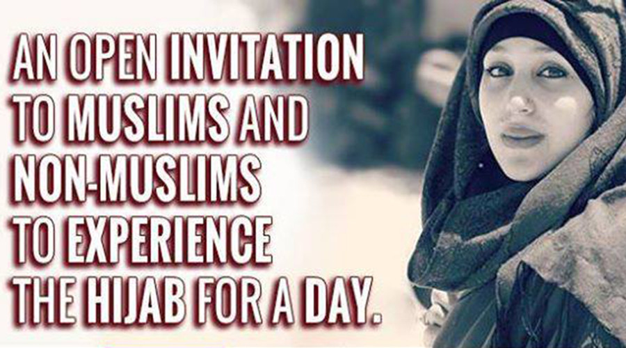 Happy Hijab Day! Paris students of all faiths invited to cover their hair