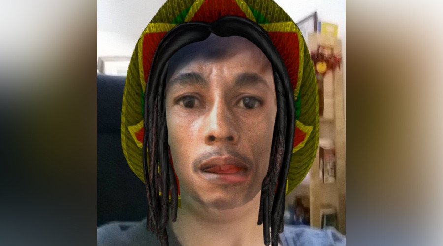 Shocked Bob Marley fans vent fury at 'blackface' Snapchat filter