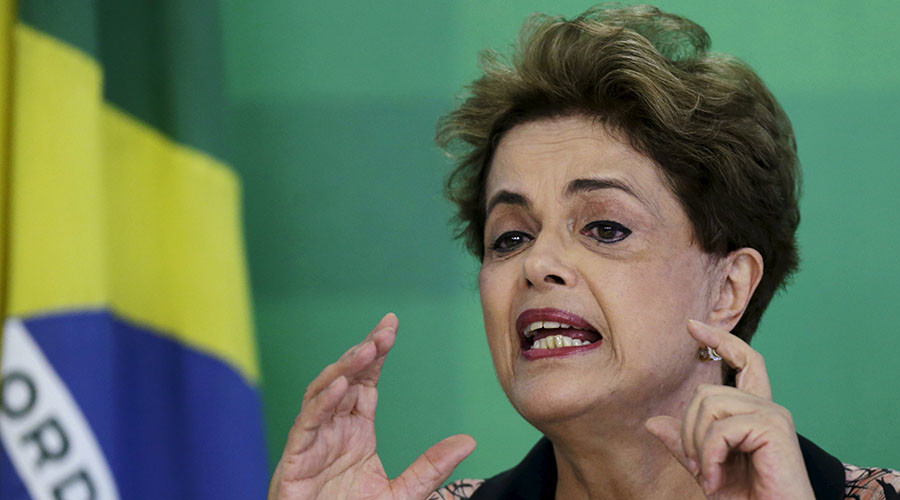 Brazil's Rousseff likens impeachment to 'coup,' vows to fight back