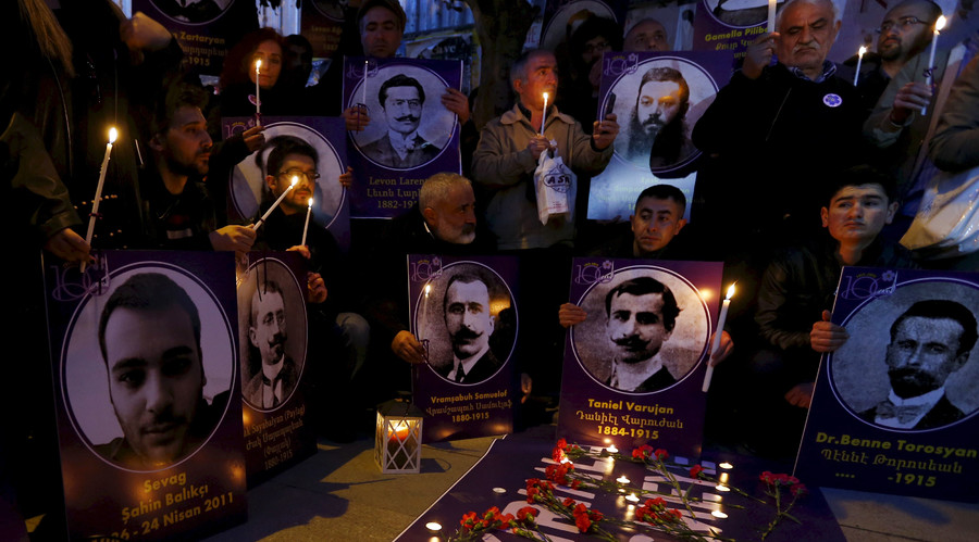 Thousands worldwide demand that Turkey recognize Armenian genocide on 101st anniversary