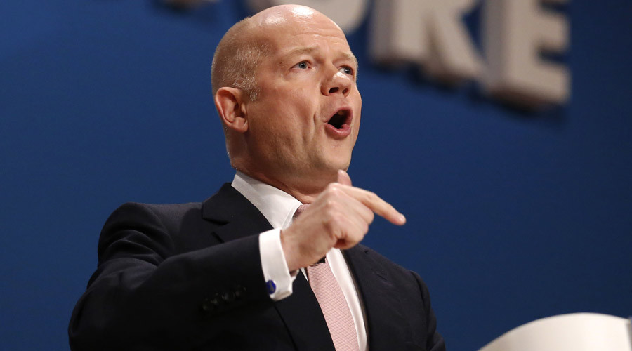 'Problem with the Middle East is not enough Western intervention' – William Hague