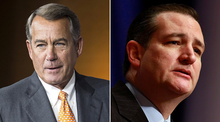 The devil you know: John Boehner calls Ted Cruz 'Lucifer in the flesh'