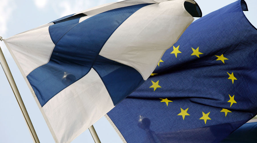 Finnish parliament discusses 'reviving economy' by ditching euro
