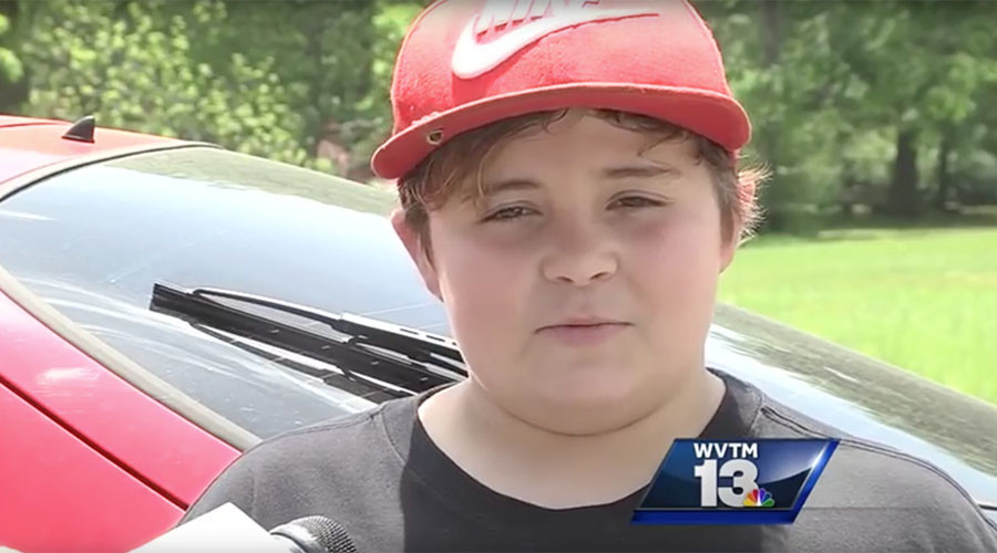 11yo Alabama boy shoots intruder, mocks him for 'crying like a baby' (VIDEO)