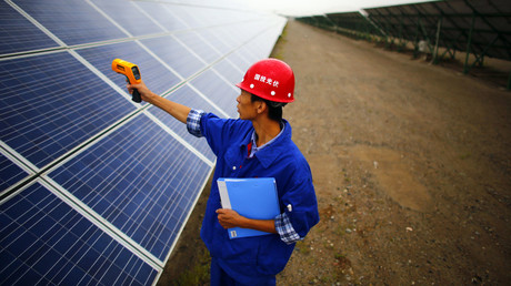 China proposes $50tn global renewable energy network